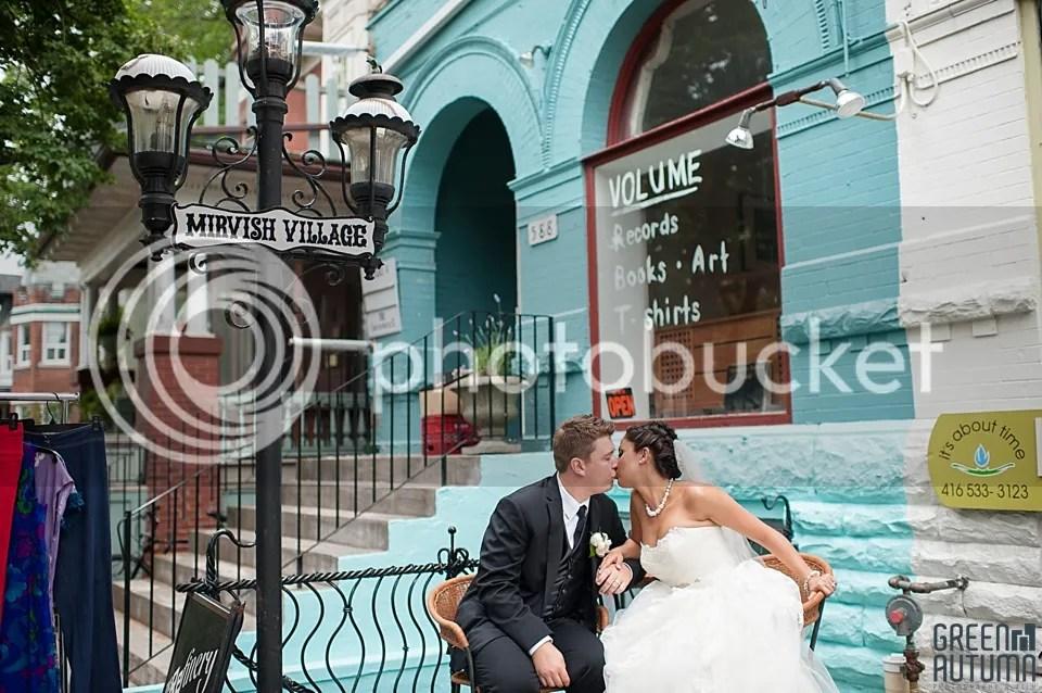 Mirvish Village Toronto Wedding Photography and Cinema