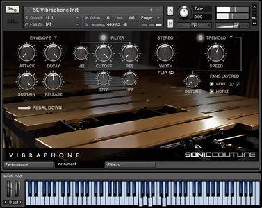 Soniccouture Vibraphone KONTAKT (UPDATE)