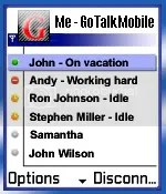 mainscreenshot Free Gtalk Mobile Java Application