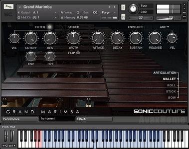 Soniccouture Grand Marimba KONTAKT UPDATE coobra.net