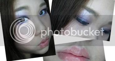 [化妝] 化身甜美小小姐。紫色眼妝