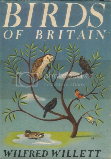 Birds of Britain book cover