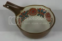 vintage Figgjo pottery saucepan