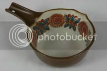 vintage Figgjo pottery saucepan