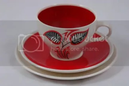1950s Wade pottery cup &amp; saucer