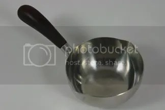 vintage stainless steel Lundtofte sauceboat