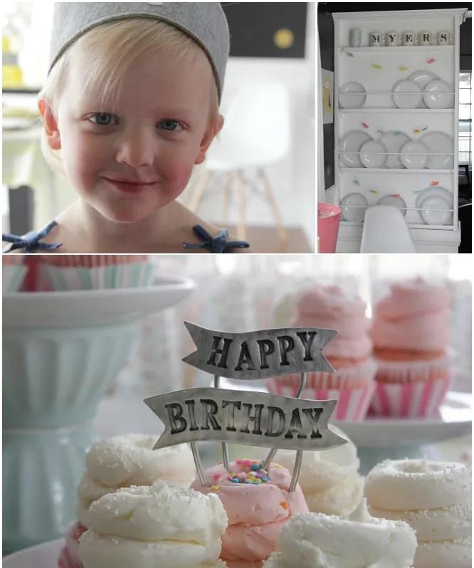 Hazel Turns 4 - Little Girls Birthday Party 6
