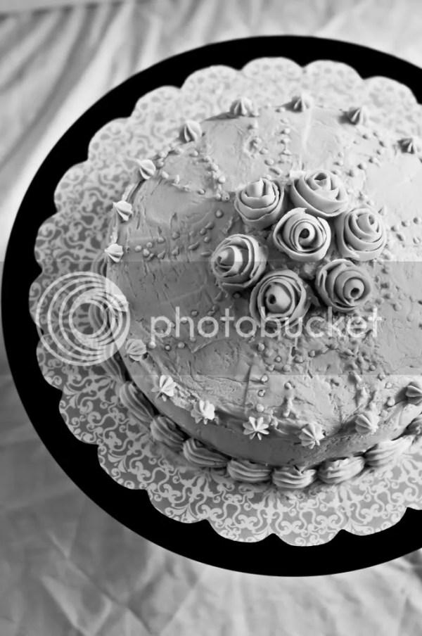 B&W Wednesday - Wilton cake