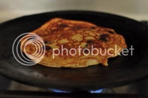 Blueberry Buckwheat pancake