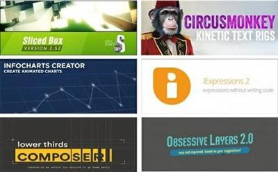 Aescripts Plugins Collection for After Effects Updated Sept.2016