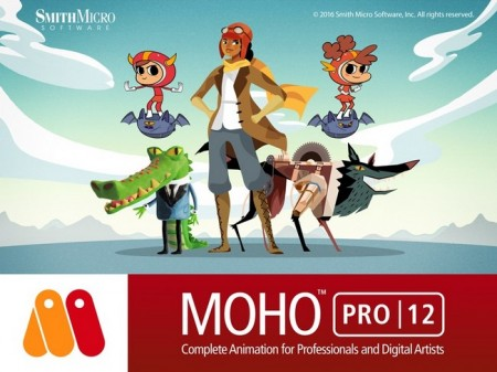 Smith Micro Moho (Anime Studio) Pro.v12.0.0.20763 (x64) Portable