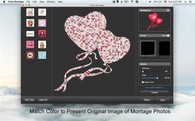 iFoto Montage 2.7 MacOS X