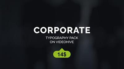Corporate Titles - Project for After Effects (VideoHive)