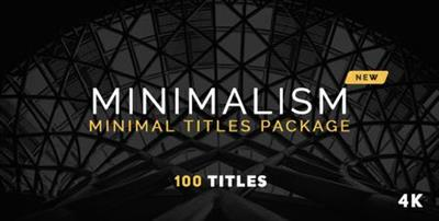Minimalism New - Project for After Effects (VideoHive)