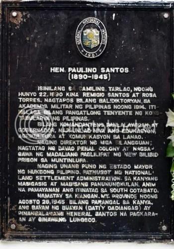 Gen. Santos Marker