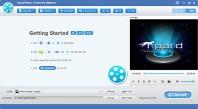 Tipard Video Converter Ultimate 9.0.28.Multilingual
