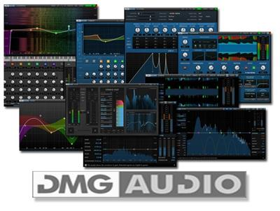 DMG Audio Plugins Bundle v1.0.5 MacOS X
