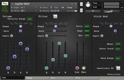 Binary Music Electrophonics - KONTAKT