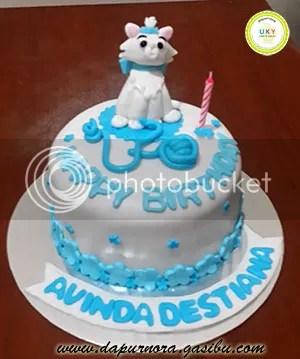 kue ulang tahun kucing