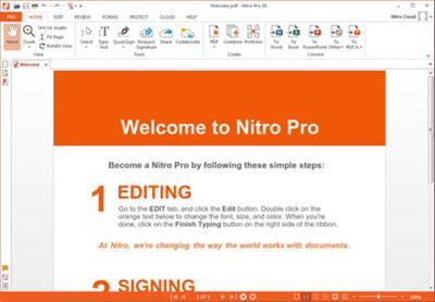 Nitro Pro 11.0.1.16 (x64) (Portable) coobra.net