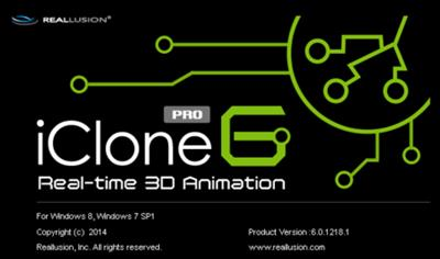Reallusion iClone Pro 6.53.3511.1 +  Resource Pack