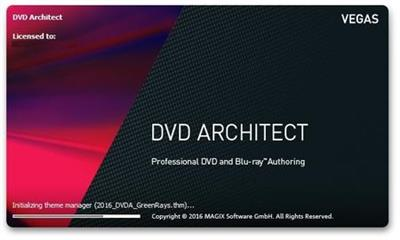 MAGIX Vegas DVD Architect 7.0.0 Build 38.Multilingual