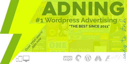 CODECANYON - ADNING ADVERTISING V1.2.5