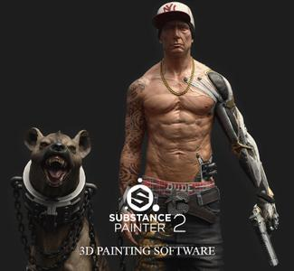 Allegorithmic Substance Painter v2.3.0.1326