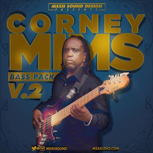 MSXII Audio Corney Mims Bass Pack Vol 2.WAV Ni Mashine