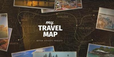 My Travel Map - Project for After Effects (VideoHive)