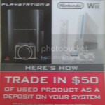 Gamestop PS3 and Wii Preorders