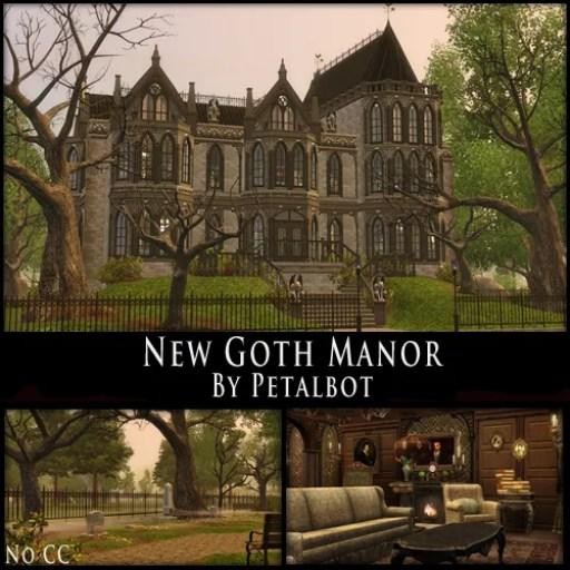 New Goth Manor Petalbot S Builds