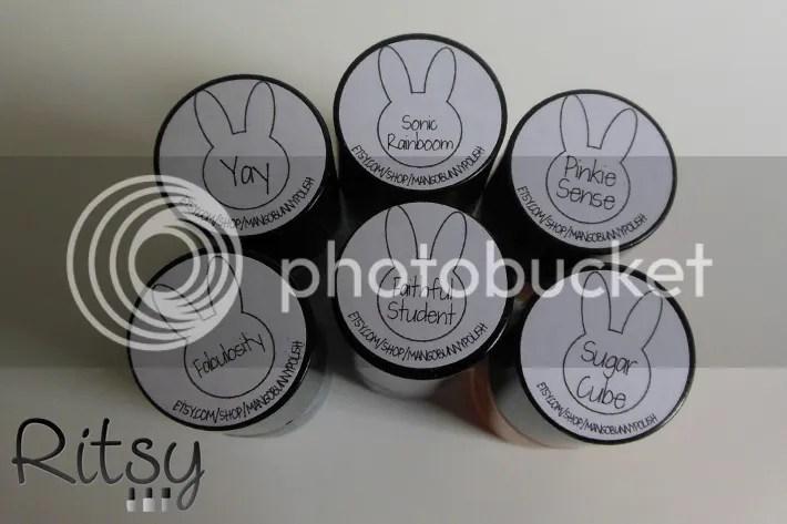 Mango Bunny Polish