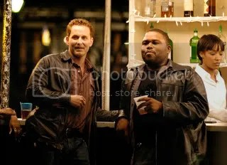 Cole Hauser (left) and Anthony Anderson