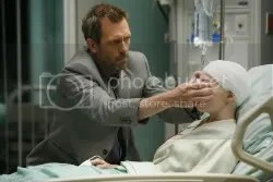 "Hugh Laurie in the ""Not Cancer"" episode of House."