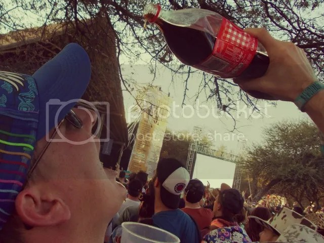 Oppikoppi Bewilderbeast Coke and Brandy