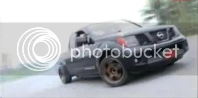 Nissan Navara Drift Truck
