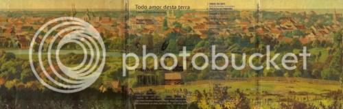 Curitiba em 1909 por R.Klämmerer, na capa do CD