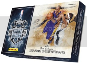 2009/10 Panini Court Kings Basketball Box