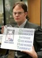 still from The Office: Season 2   hosted by Photobucket.com