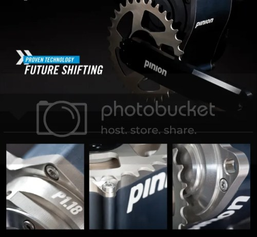 pinion p1.18 18 speed gear box