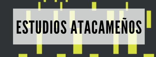 Estudios Atacameños banner