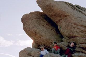 2003 Joshua tree NP 3 boys