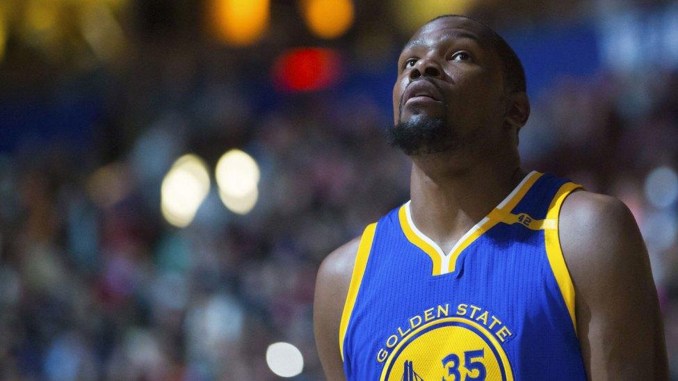 Kevin Durant at Warriors