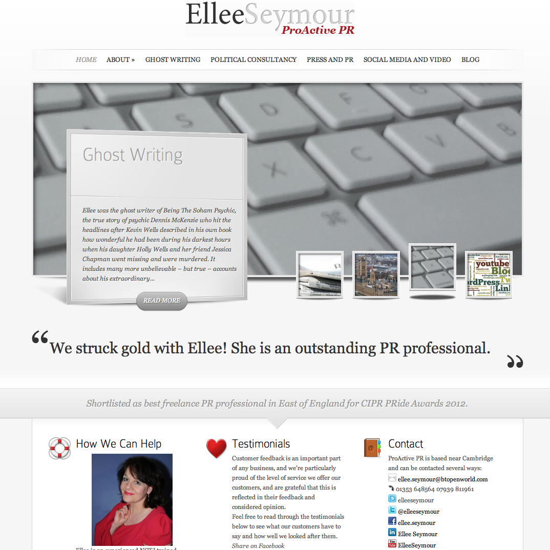 Ellee Seymour Blog Social networking – An introduction for beginners