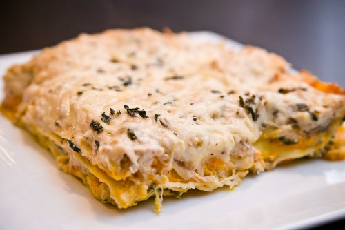 20091104-Butternut Squash Lasagna