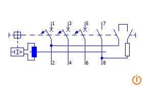 Wyłącznik różnicowoprądowy 4p (304)