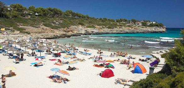 Cala Mendia a Porto Cristo, Mallorca - Illes Balears