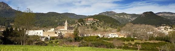 Puigpunyent a la Serra de Tramuntana de Mallorca