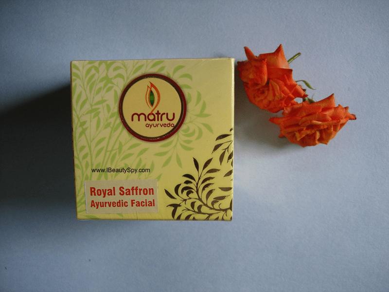 matru_ayurveda_saffron_facial